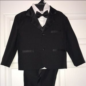 Peanut Butter Collection 5 pc Black Toddler Tuxedo